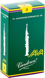 Vandoren Soprano Sax Java Reeds 10-Pack 3 (SR303)