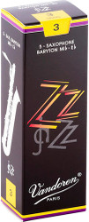 Vandoren Baritone Sax ZZ Reeds 5-Pack 3 (SR443)