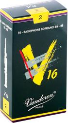 Vandoren Soprano Sax V16 Reeds 10-Pack 2 (SR712)