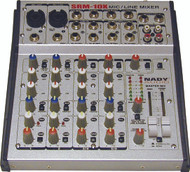 Nady SRM-10X 10-CHANNEL Compact Stereo Mic/line Mixer