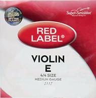 Super Sensitive 2117 Coated Steel Violin Strings, Medium (SS211*M4/4)