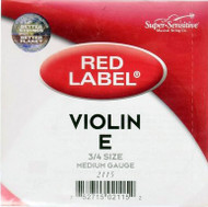 Super Sensitive 2115 Coated Steel Violin Strings, Custom (SS211*O3/4)