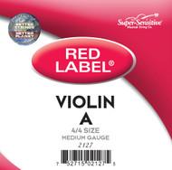 Super Sensitive Red Label 2127 Violin A String 4/4 (SS212*M4/4)
