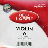 Super Sensitive Red Label 2124 Violin A String 1/2 (SS212*O1/2)