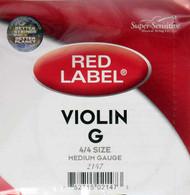 Super Sensitive Red Label 2147 Violin G String 4/4 (SS214*M4/4)