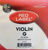 Super Sensitive Red Label 2144 Violin G String 1/2 (SS214*O1/2)