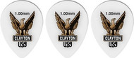 Clayton Acetal Polymer Small Teardrop 1.00mm 12 Picks (ST100/12)