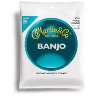 Martin V700 Vega Banjo Strings, Light