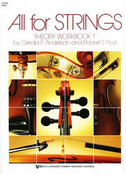 All For Strings Theory Workbook 1 Violin