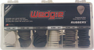 Wedgie Rubbers Cabinet of 108 Assorted Picks