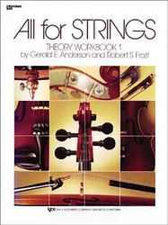 All For Strings Theory Workbook 1 String Bass