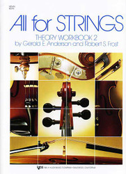 All For Strings Theory Workbook 2 Violin