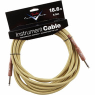 18.6' Fender® Performance Series Instrument Cable - Tweed