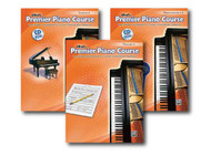 Alfred's Premier Piano Course Series Level 4 - Three Book Set - Includes Less..