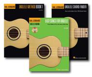 Play Ukulele Fast Pack - Three Book Set - Includes Ukulele Chord Finder, Hal ..
