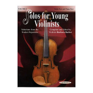 Solos For Young Violinists Violin Part And Piano Acc., Volume 3 Selections From The Student Repertoire