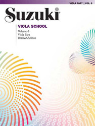 Suzuki Viola School Viola Part, Volume 6