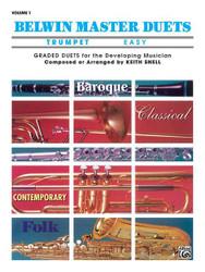 Belwin Master Duets (Trumpet), Easy Volume 1