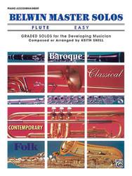 Belwin Master Solos, Volume 1 (Flute) 1