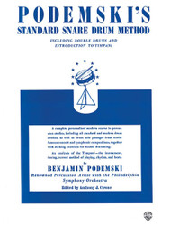 Podemski's Standard Snare Drum Method Including Double Drums And Introduction To Timpani