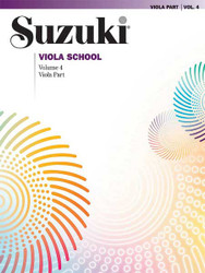 Suzuki Viola School Viola Part, Volume 4
