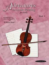 Adventures In Music Reading For Violin 1