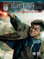 Harry Potter Instrumental Solos For Strings Selections From The Complete Film Series 1