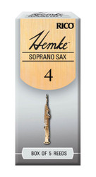 Hemke Soprano Sax Reeds, Strength 3.0, 5-pack