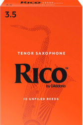 Rico Tenor Sax Reeds 10-Pack 3.5 (7B3.5)