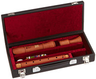 Hohner 9574 Concert Pearwood 3-Piece Alto Recorder