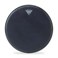 Remo BA0813-ES Black Suede Ambassador Drum Head - 13-Inch