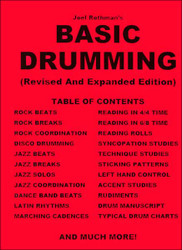 Basic Drumming-Revised & Expanded Joel Rothman - Book