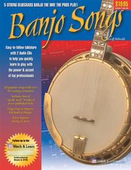 Watch & Learn Banjo Songs Book Bkcd (237257)