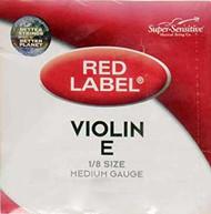Super Sensitive 2112 Coated Steel Violin Strings, Custom (SS211*O1/8)