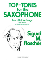 Top Tones For The Saxophone, Third Edition