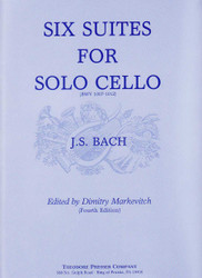 Six Suites, For Solo Cello, Bwv 1007-1012, Fourth Edition