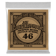 Single Ernie Ball Earthwood Phosphor Bronze Acoustic Guitar .046 (B1846) Packaging Front