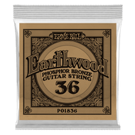 Single Ernie Ball Earthwood Phosphor Bronze Acoustic Guitar .036 (B1836) Packaging front