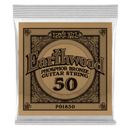 Single Ernie Ball Earthwood Phosphor Bronze Acoustic Guitar .050 (B1850) Packaging Front