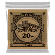 Single Ernie Ball Earthwood Phosphor Bronze Acoustic Guitar .020 (B1820) Packaging Front