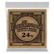 Single Ernie Ball Earthwood Phosphor Bronze Acoustic Guitar .024 (B1824) Packaging Front