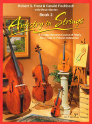 101VN - Artistry in Strings Violin Book 2