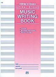 "12 Stave Music Writing Book (9"" x 12"")"