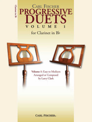 Progressive Duets, Volume I For Clarinet In Bb