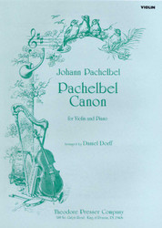 Pachelbel Canon, For Violin And Piano