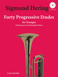 Forty Progressive Etudes For Trumpet, Bkcd