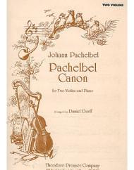Pachelbel Canon, For Two Violins And Piano, Violin I, Violin Ii, Piano