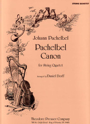 Pachelbel Canon, For String Quartet, Violin I, Violin Ii, Viola, Cello