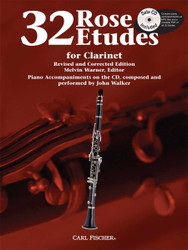 Rose 32 Etudes, For Clarinet And Piano