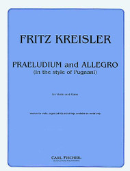 Praeludium And Allegro, Violin, Piano